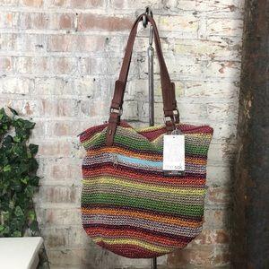 NWT The Sak Hand Crocheted Bag Alpine Multicolored